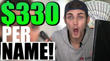 Earn $600+ Typing Names ($30 Per Page) | Make Money Online