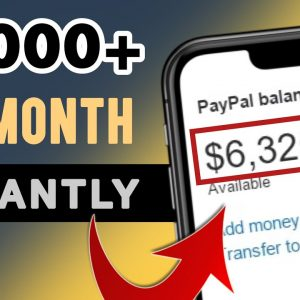 Get Paid $6000+ Instantly Using These Websites | Make Money Online 2021