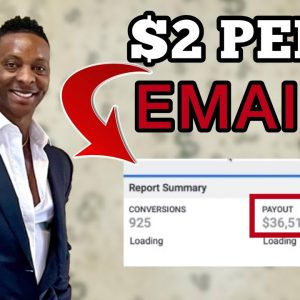 Make $2 Per Email | Make Money With FREE Emails | Make Money Online 2021