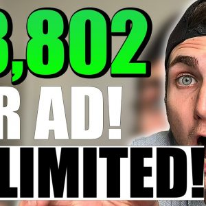 Make $3,802.82 Per Ad! (Earn Huge Money With FREE UNLIMITED ADS TRICK)