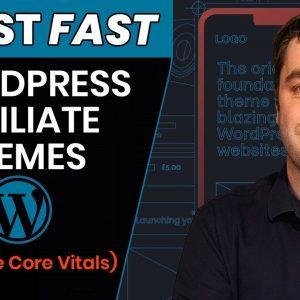 5 BEST Wordpress Themes That FIX Google Core Virals Are Speed! (2021Affiliate Marketing)