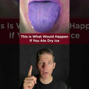WHAT HAPPENS IF YOU EAT DRY ICE
