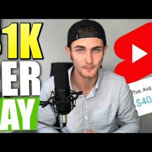 Zero To $1,000/Day With YouTube Shorts (Make HUGE Money With YouTube Shorts 2021)
