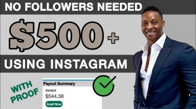 How To Make $500 Using Instagram Without Any Followers | Make Money Online 2021