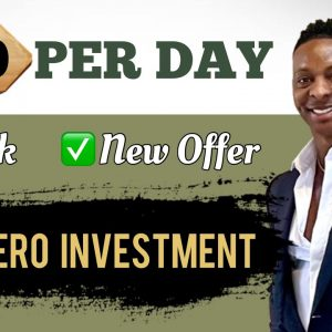 Quickest Way To Make $200 Per Day With This NEW OFFER With $0   Make Money Online 2021