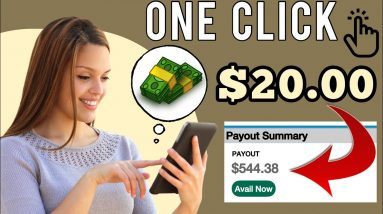Get Paid $20 Every Time You Click This Button | Make Money Online | Earn Money Online