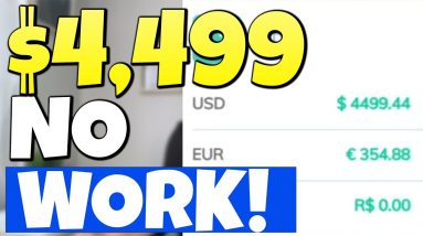 This Made Me $4499.44 in 24 HOURS - Ultimate Passive Income Blueprint (DO NOTHING)