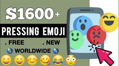 Earn $1600+ By Pressing Emoji?!!- FREE Make Money Online   Make Money Online