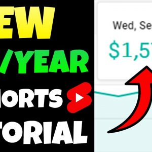 How To Make Money With YouTube Shorts | BEST YouTube Shorts Tutorial To Make $1,000,000 Per Year