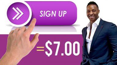*NEW TRICK* Earn $7.00 Per FREE SignUp | Make Money Online 2021 | Make Money Online