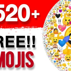 Get Paid $520 DAILY From FREE Emojis! 😍 🤑  Make Money Online 2021 | Earn Money Online
