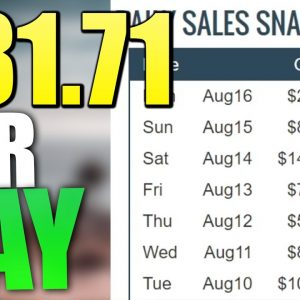 Make $81.71 Per Day On Clickbank WITHOUT A Website For FREE