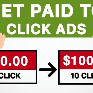 Earn $100+ Per Day Clicking Ads *New Method*   Make Money Online FREE - Worldwide
