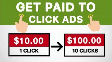Earn $100+ Per Day Clicking Ads *New Method* | Make Money Online FREE - Worldwide