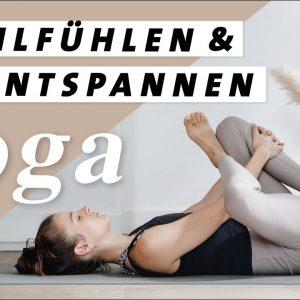 Yoga zum Entspannen & Wohlfühlen | Gesunder Rücken & Bewegliche Hüften | 30 Min. Yin Yoga Style