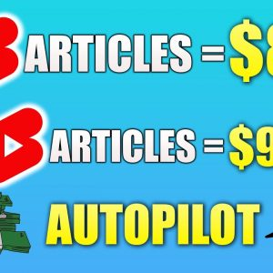 Make $1200 Per Day By Turning ARTICLES Into YouTube Shorts | Make HUGE Money With YouTube Shorts