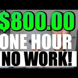 (SEE PROOF!) Earn $880.00 In 1 HOUR On Autopilot *NO WORK* | Make Money Online