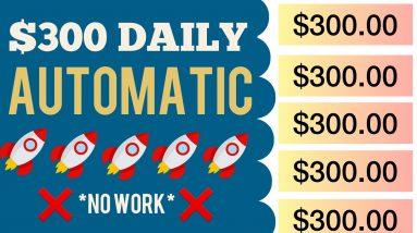 NEW WEBSITE To Get Paid On Autopilot | Make Money Online 2021 | Earn Money Online