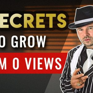 How To Grow With 0 Views And 0 Subscribers - 7 Steps to Grow Your YouTube Channel Fast
