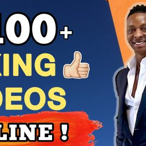Make $100 Per Day Liking Videos Online | Make Money Online 2021 | Make Money Online