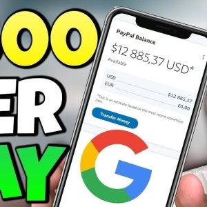 Get Paid $500/Day With This Google Technique (Free Google Money 2021)